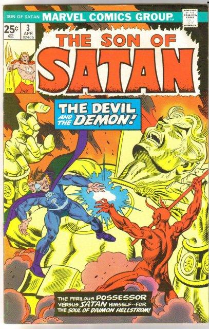 The Son of Satan #3 comic book fine/very fine 7.0