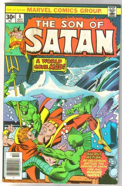 The Son of Satan #6 comic book very fine 8.0