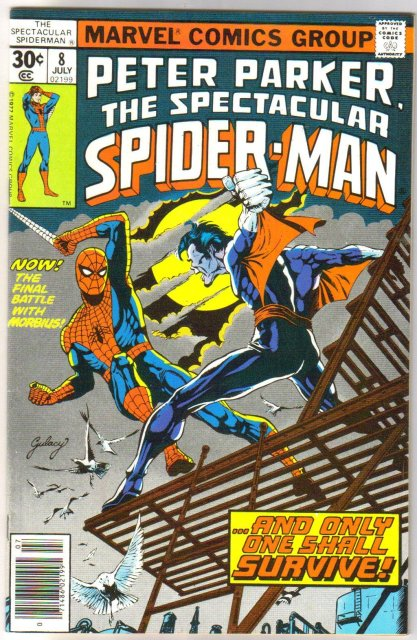 Peter Parker The Spectacular Spider-man #8  comic book near mint 9.4