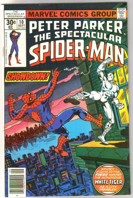 Peter Parker The Spectacular Spider-man #10  comic book near mint 9.4