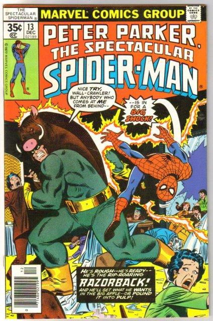 Peter Parker The Spectacular Spider-man #13  comic book near mint 9.4