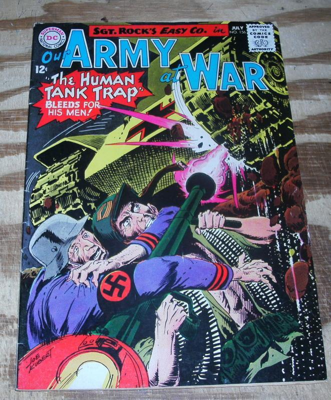 Our Army at War #156  vg/fn 5.0