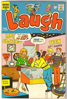 Laugh Comics #255 comic book very good/fine 5.0