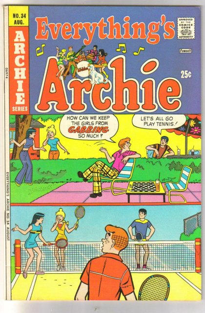 Everything's Archie #34  comic book very fine/near mint 9.0