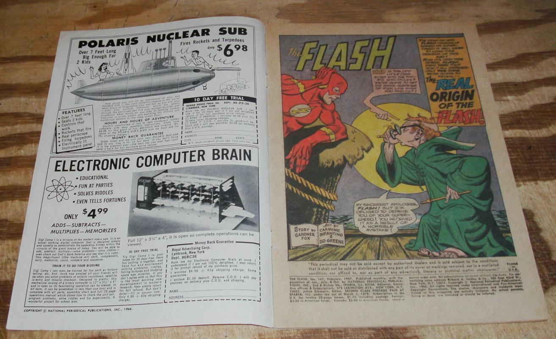 The Flash #167 very good/fine 5.0