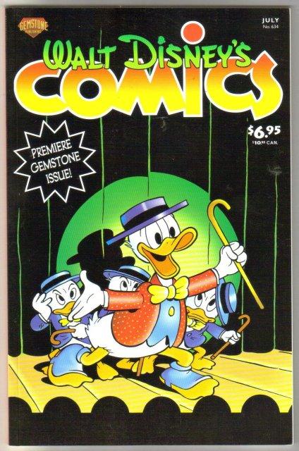 Gemstone Publications' Walt Disney's Comics #634 comic book mint 9.8