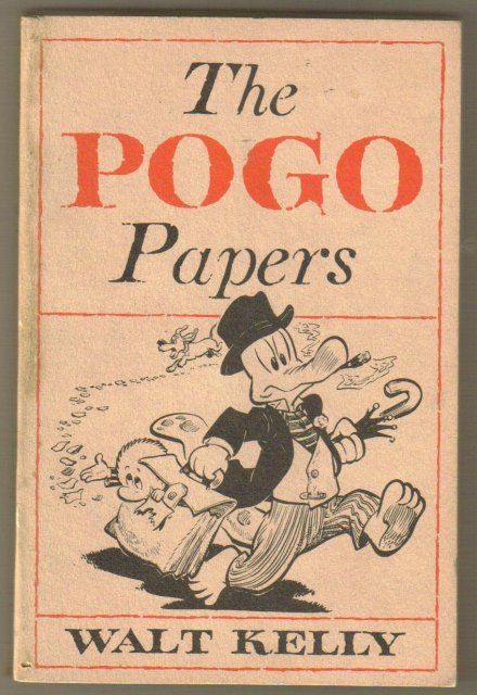 ThePogo Papers 1953 by Walt Kelly paperback