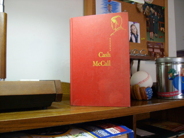 Cash McCall hardcover original by Cameron Hawley1955