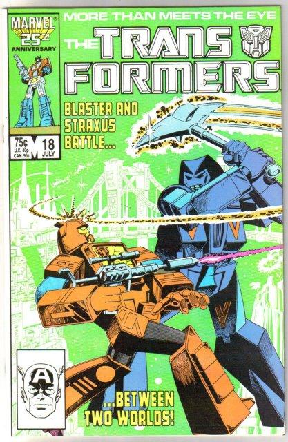 Transformers  #18  (1984 series) comic book mint 9.8
