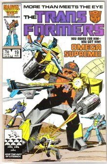 Transformers  #19  (1984 series) comic book mint 9.8