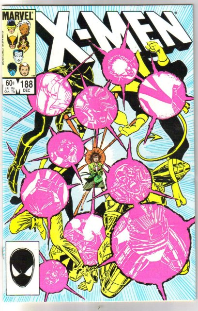 Uncanny X-Men #188 comic book mint 9.8