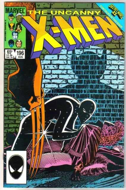 Uncanny X-Men #196 comic book mint 9.8