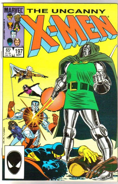 Uncanny X-Men #197 comic book mint 9.8