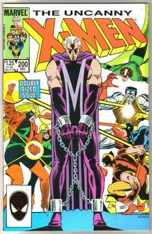Uncanny X-Men #200 comic book mint 9.8