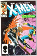 Uncanny X-Men #201 comic book mint 9.8