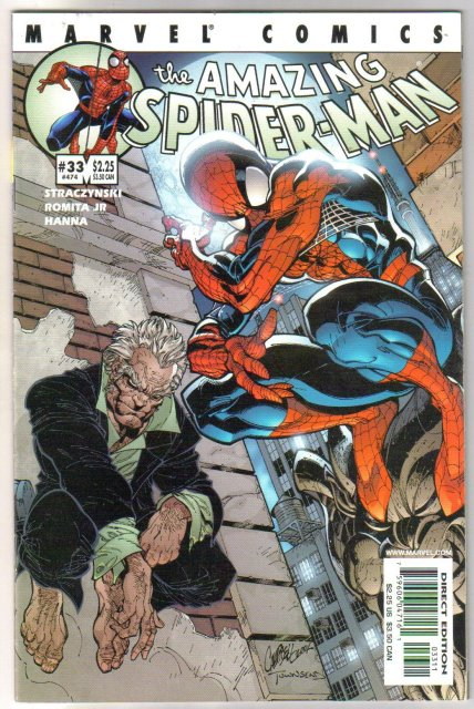 Amazing Spider-man vol 2 #33 comic book near mint 9.4