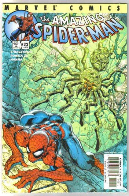 Amazing Spider-man vol 2 #32 comic book mint 9.8