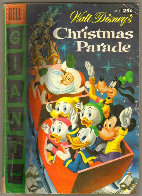 Dell Giant #8 Walt Disney's Christmas Parade comic book good/very good 3.0