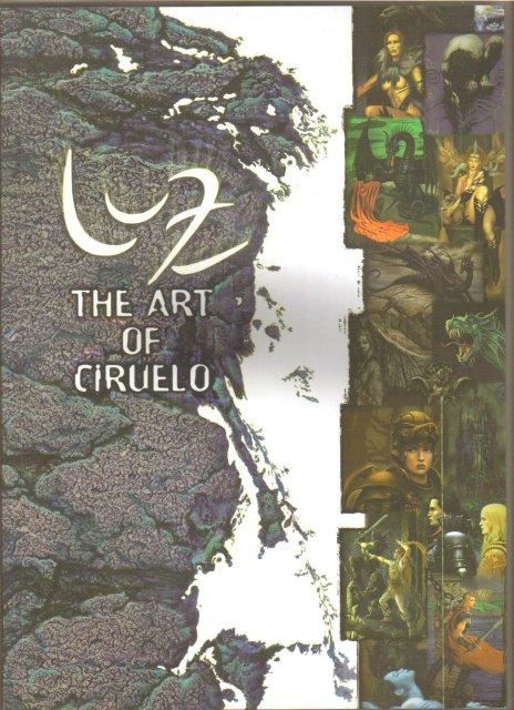The Art of Ciruelo art book brand new
