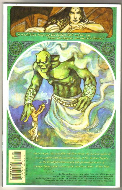Green Lantern 1001 Emerald Nights graphic novel brand new mint