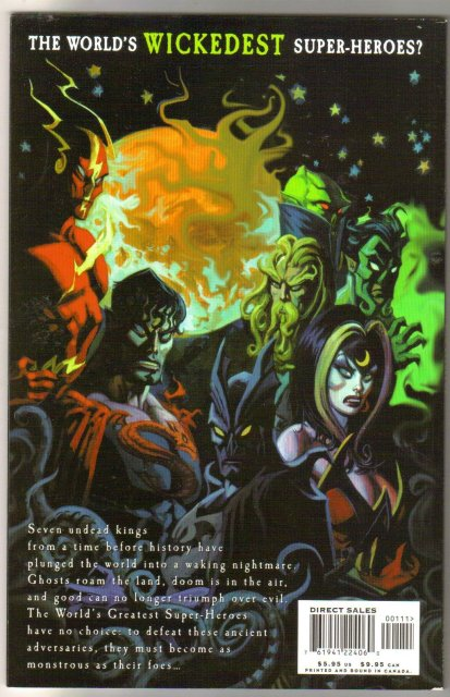 JLA Seven Caskets brand new mint graphic novel