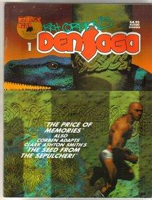 Richard Corben's Densaga 1 magazine
