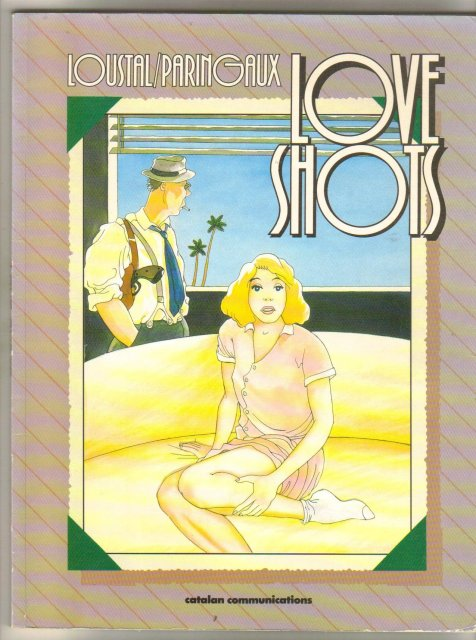 Love Shots trade paperback brand new mint