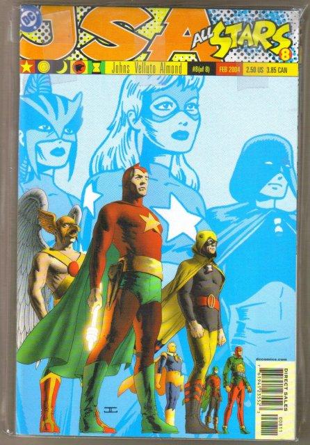 JSA All Stars complete set of 8 comic books all mint