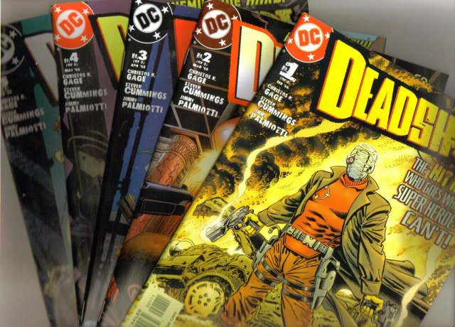 Deadshot complete set of 5 comic books all mint