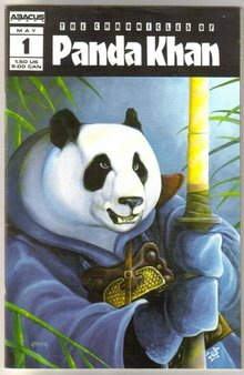 The Chronicles of Panda Khan complete set of 4 comic books all near mint