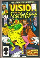 Vision and the Scarlet Witch 12 issue comic book mini-series