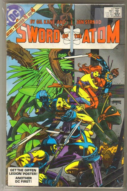 Sword of the Atom 4 issue mini-series