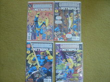 Guardians of Metropolis 4 issue mini-series  comic books