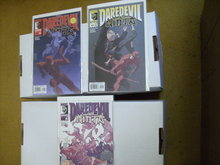Daredevil Ninja 3 issue mini-series comic books
