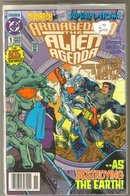 Armageddon The Alien Agenda 4 issue set near mint comic books