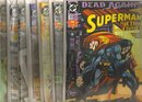 Superman Dead Again! 7 issue set near mint comic books