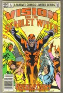 Vision and the Scarlet Witch  4 issue set near mint comic books