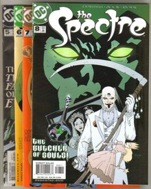 The Spectre issues 5,6,7,8 near mint comic books