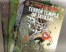 Tom Strong in the Terror Temple of Tayasal issues 3,6,7,and 9 near mint comic books