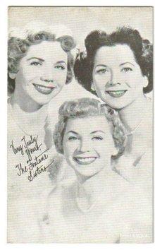 Fontane Sisters arcade card