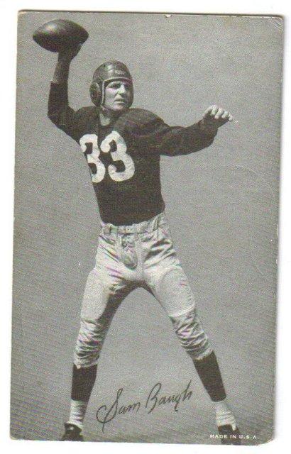 Sammy Baugh arcade card