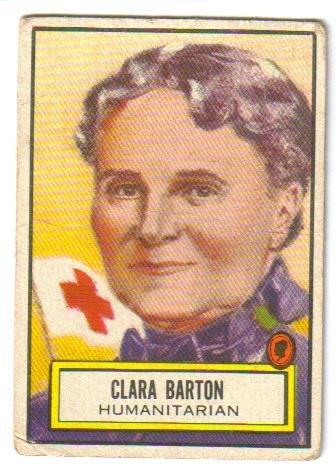 Clara Barton Look'n See card