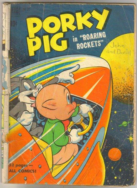 Porky Pig #322 comic book good 2.0