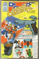 Captain Confederacy 4 issue mini series near mint comic books