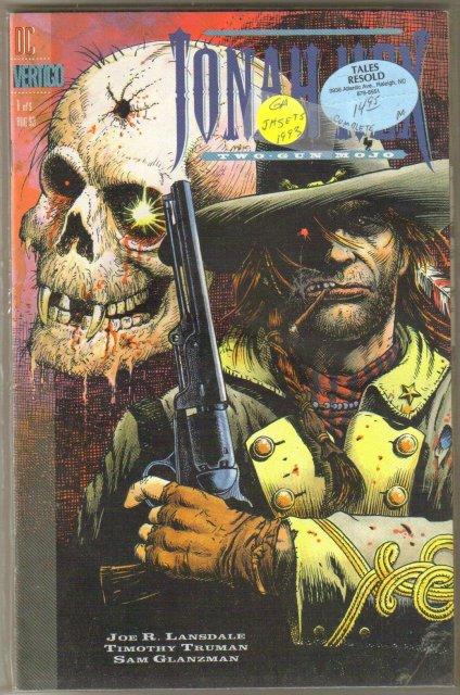 Jonah Hex Two-Gun Mojo 5 issue mini series  mint comic books