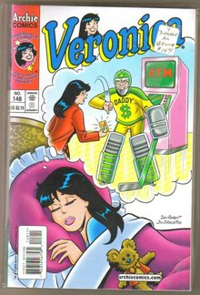 Nine issue Veronica comic book collection