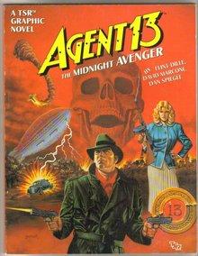 Agent 13 the Midnight Avenger graphic novel