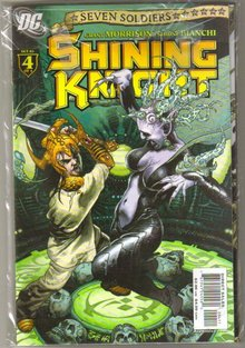 Seven Soldiers Shining Knight 4 issue mini-series mint all
