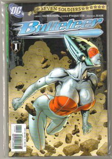 Seven Soldiers Bulleteer 4 issue mini-series mint all