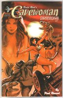 Budd Root's Cavewoman Jungle Jam 2 issue comic book mini-series mint